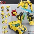 Novo Dinossauro Máquina Transformação Robot Alliance Human Bumblebee Figuras de Ação Brinquedos Clássico Brinquedo Playskool Heróis Resgate Bots