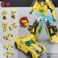 Nueva Máquina De Dinosaurio Robot Transformación Alianza Humana Bumblebee Playskool Héroes Contra Los Robots de Rescate de Juguete Figuras de Acción Juguetes Clásicos