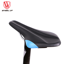WHEEL UP 2017 New MTB Bike Cycling Saddle With 2 styles Colorful Breathable Professional Cycling Bike Seat Cycling Accessories