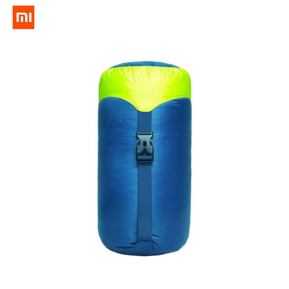 Оригинальный ультра легкий спальный мешок xiaomi mijia zaofeng, 300 г, 90% чистого белого утиного пуха, очень легко носить с сумкой - 6