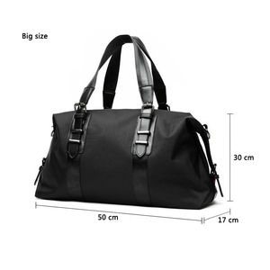 Image 4 - New  Mens Travel Bags Large Capacity Men Luggage Large Capacity Handbags Oxford Travel Duffle Bags Fashion Men Folding Bag
