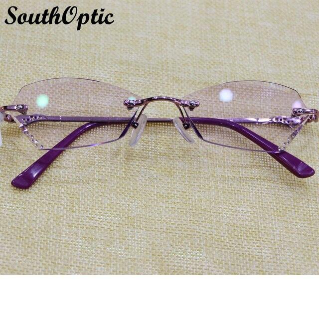 Korean Glasses Titanium Oval Eyeglasses Frame Rimmed Glasses gafas titanio with1.61 Asphereic Tinted HMC EMI UV400 Lenses 7039