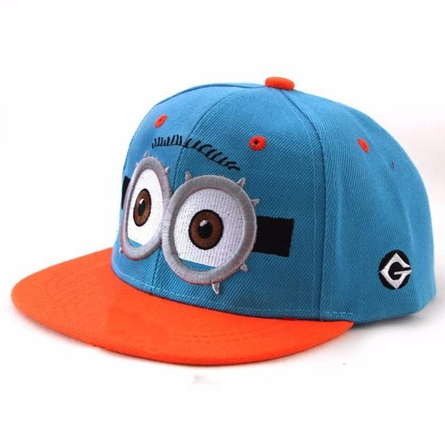Stylish Despicable Me Baseball Hats For Kids