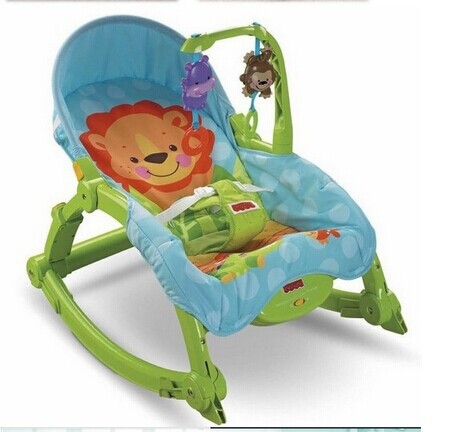 Fisher Baby Multifunction Portable Recliner Foldable Rocking Chair Baby  Feeding Children Chair Crianas Carrinho Free Shipping