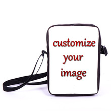 Custom Image Anime Gravity Falls Tv Shows Supernatural Animal Mini Messenger Bag Boys Girls School Bags Kids Bag Best Gift Bags
