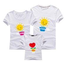 Roupas de casal homem e mulher sol flor impressão t-shirts algodão manga curta amantes t camisa para casais verão unisex topos