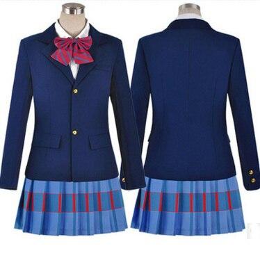 ¡Love Live! Disfraces de Cosplay de Love Live, uniformes escolares de Kousaka, Honoka, Minami, koatori, Ayase, Eli, Tojo, Nozomi, Nishikino, Maki