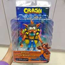 NECA Flying version Crash Bandicoot of Mad Strike Trilogy classic game Joint movable collection of toy action figures 18cm(China)