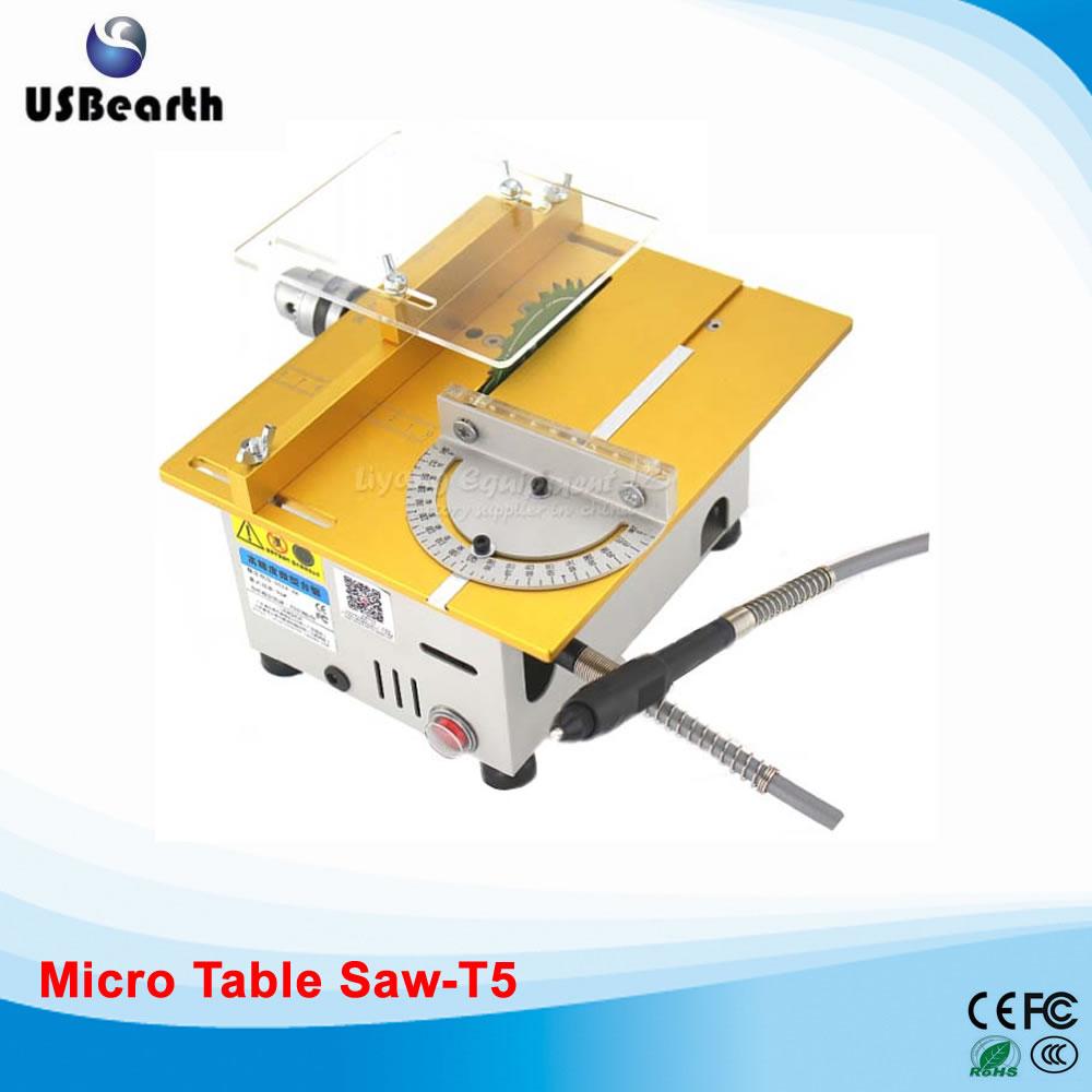Miniature precision multi - function bench saw T5 / T6 small cutting machine q10032 miniature precision multi function bench saw t6 small cutting machine