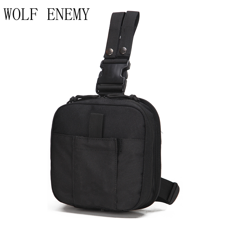 1000D Nylon Empty Bag Tactical Medical First Aid Utility Pouch Outdoor Travel Camping Emergency Bag Belt Bags Treatment Pack