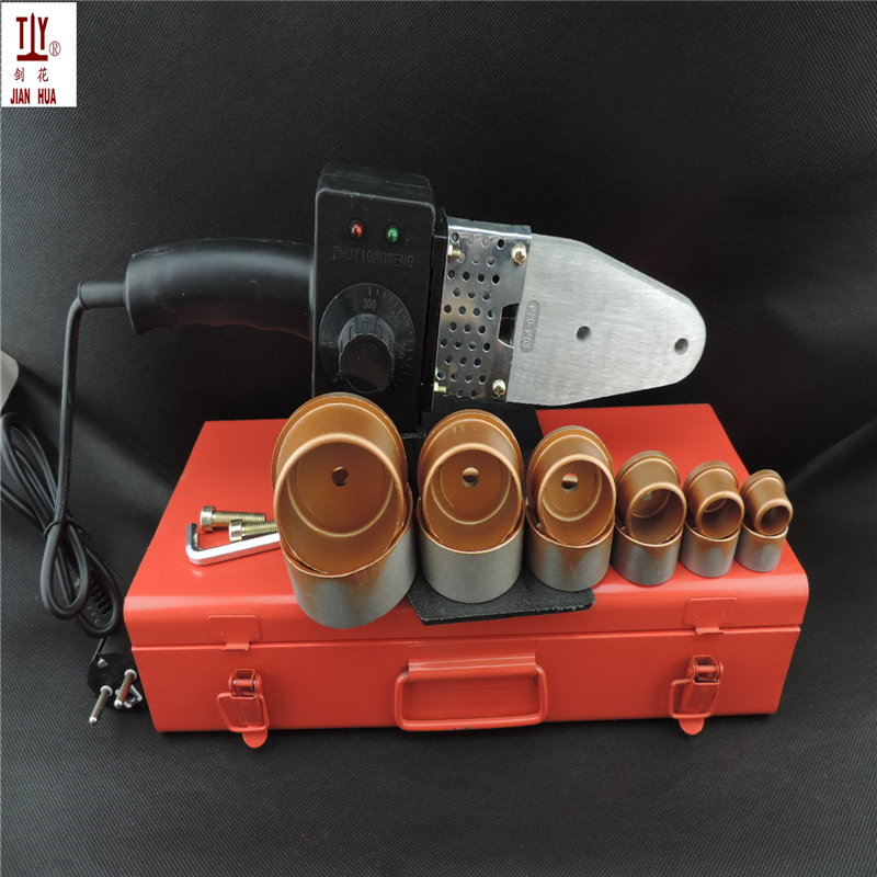 Plumber Tools Iron Box Temperature Controled Plastic Pipes Tube Welding Machine, PPR Pipe Welder AC 110/220V 20-63mm To Use temperature controled ppr pipe welding machine plastic welder ac 220v 1000w 20 63mm plastic pipe welding