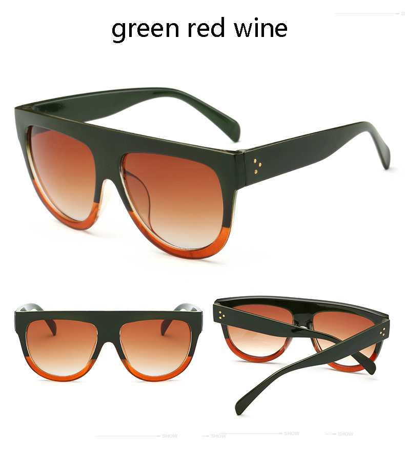HTB1P79.PXXXXXXsaXXXq6xXFXXXT - Flat Top Retro Tortoise Shadow Women's Sunglasses