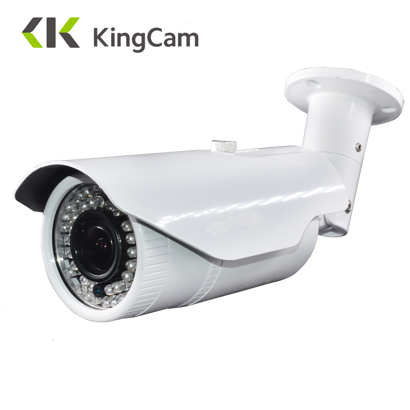 Kingcam 4MP Motorized zoom Lens 2.8mm-12mm Metal POE Security IP Camera OV4689 Sensor Outdoor Surveillance 2.8mm-12mm lens ip