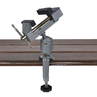 Table Vise Bench Vice Alloy 360 Degree Rotating Universal Clamp Units Vise Mini Precise Vise For