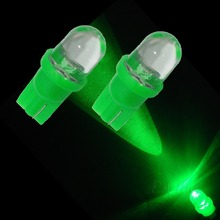 20PCS T10 Wedge 194 DIP LED For Car Auto Dome Dashboard Courtesy Bulb Lamp Green PA