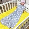 Новорожденный Спальный Мешок Ребенка Sleepsacks 2 Слоя Рукавов Сна Мешок Для Лето/Осень Ins Детские Пижамы SacksAutu100 % Хлопок