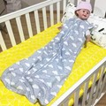 Newborn Sleeping Bag Baby Sleepsacks 2 Layers Sleeveless Sleep Bag For Summer/ Autumn Ins Baby Sleepwear SacksAutu100% Cotton