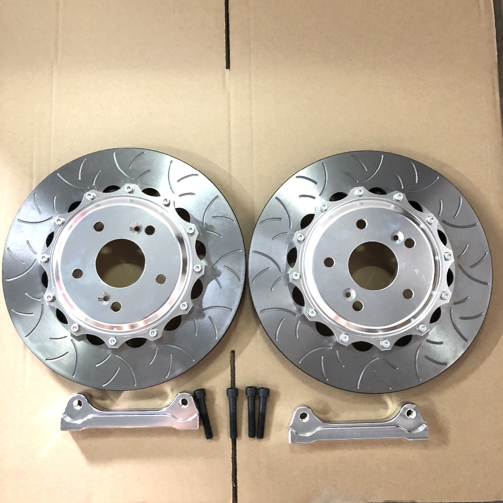 Jekit front Brake Disc 362*32mm with center cap set Rear Brake disc 355*28mm set for bmw f82 m4 year 2016 for Brembo caliper