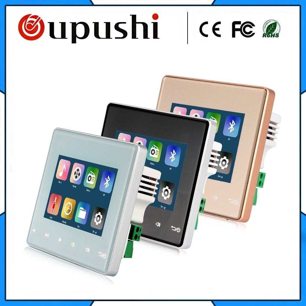 Home-Audio-system, musik system, Decke Lautsprecher system, Bluetooth digital stereo verstärker, in wand verstärker mit touch key