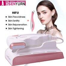 عرض المصنع جهاز HIFU صغير للعناية بالوجه يعمل بالموجات فوق الصوتية RF مضاد للشيخوخة جهاز للعناية بالوجه للاستخدام المنزلي مع التركيز على تجديد شباب الجلد بالموجات فوق الصوتية