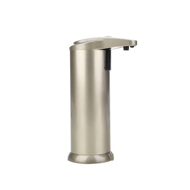 Soap Dispenser Automatic Sensor Stainless Steel Kitchen Bathroom Wall Mounted