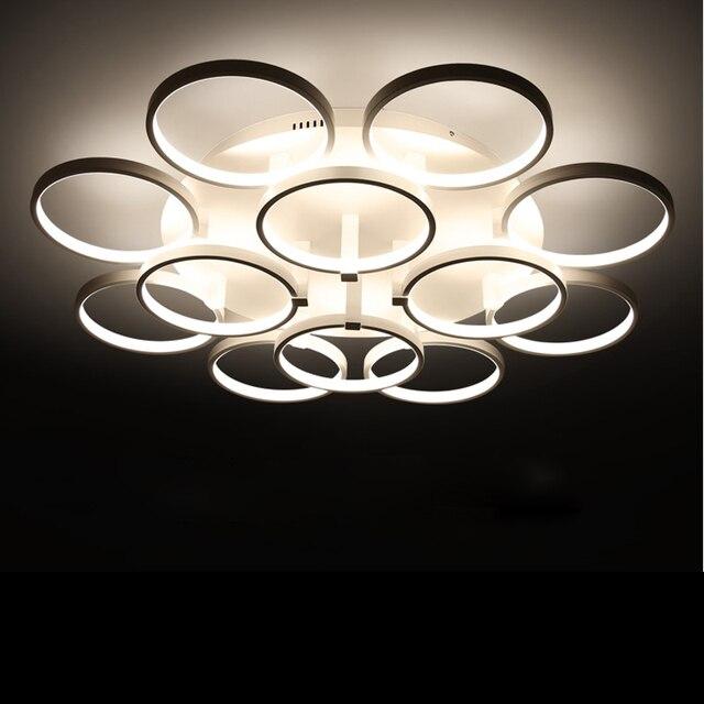 Kreis Ringe Designer Deckenleuchte Avize Beleuchtung