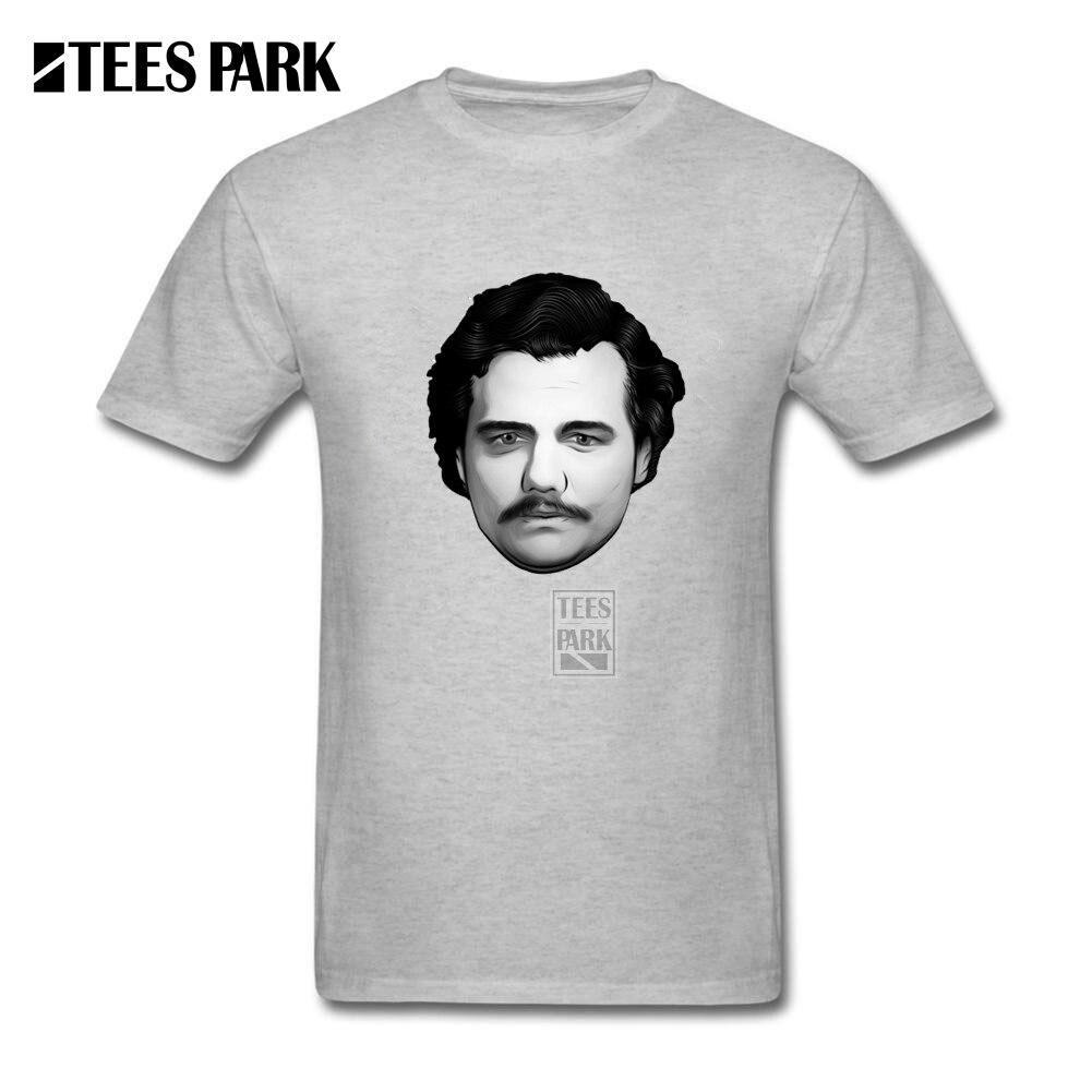 T Shirts Online Shopping Godfather Pablo Escobar Narcos Mens Natural Cotton Short Sleeve Tee 2017 New Man Black Shirt