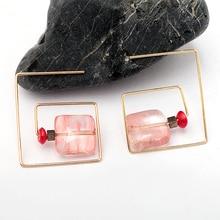 Vintage Rose Naturelle Earrings
