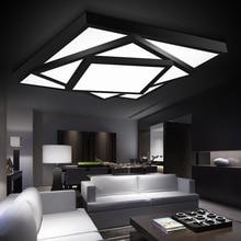 Современная светодиодная потолочная люстра, лампа для гостиной, спальни, люстры de sala, домашнее Внутреннее освещение с регулируемой яркостью
