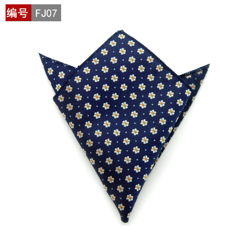 25*25cm Thin 100% Silk Light Color Male Female Handkerchief Men Women's