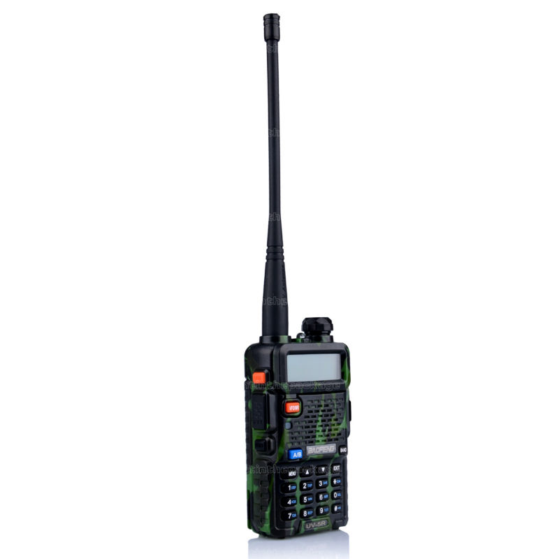 BaoFeng UV-5R talkie walkie transceiver CB radio baofeng uv5r 5W VHF UHF Dual Band two way radio (13)