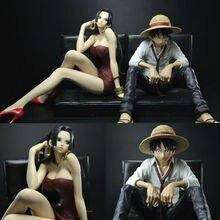 One Piece Cool Luffy Dracule Mihawk Prize Boa Hancock Creator x Creator PVC Action Figure