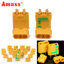5pair Amass XT90S XT90 S Male Female Bullet Connector anti spark For RC DIY FPV Quadcopter brushless motor