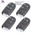KEYECU Замена дистанционный смарт ключ-брелок 433 МГц ID46 для Dodge Chrysler 200 300 2014-2016  Jeep Grand Cherokee 2014-2018