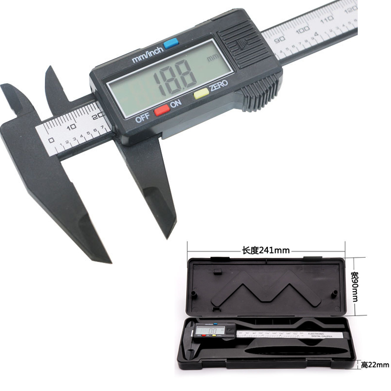 Digital vernier caliper 0 150MM digital font b measuring b font font b instrument b font