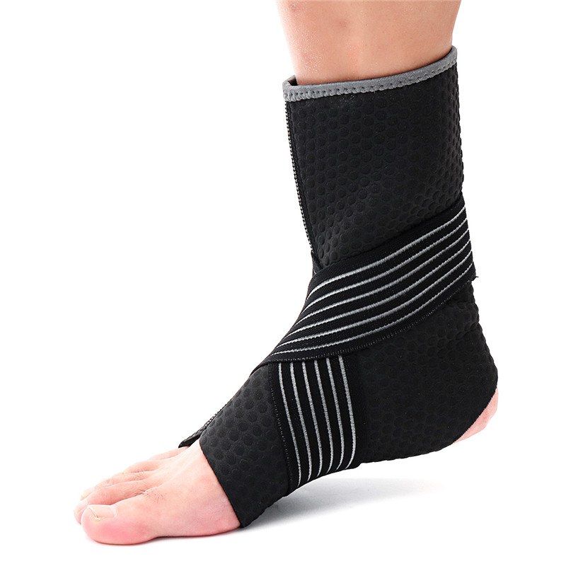 High Quality Neoprene Ankle Support Compression Strap Achilles Tendon Brace Sprain PT Sports Safety Ankle Support ...