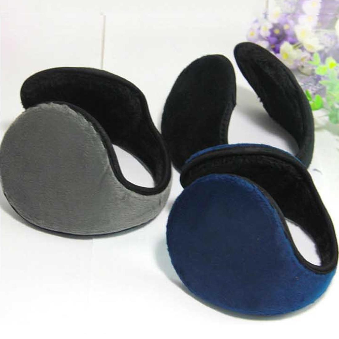 Hot Men Women Unisex Soft Comfortable Fleece Wrap Around Headwear Autumn Winter Ear Warmers Earmuffs