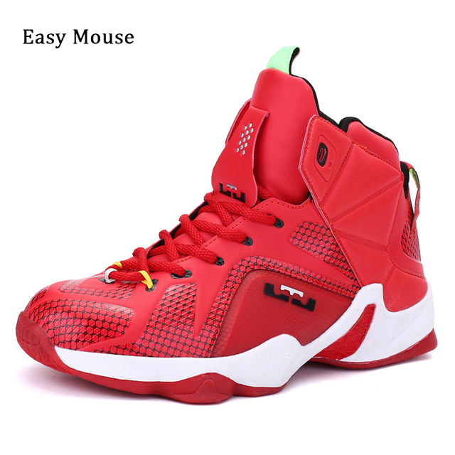 Easy Mouse New Arrivals Lebron James Shoes Men and Women Beginner  Basketball Shoes Outdoor Sports Shoes Basketball Boots ea272ada07cd