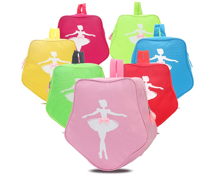 10 Colors Star Style Ballet Bag Dance Backpack Ballerina Shoulder Bag Pink/Green Dance Bags For Ballet Girls Ballet Dance Bag