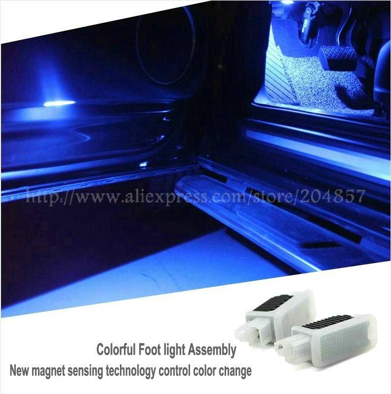 (Car must have Door light Subsititue)Free Shipping  car-styling Door light Assembly For Audi A6L Q5 A4L A7 A5 Q3 Q7 TT S5