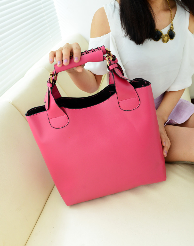 Европейский стиль модная женская сумка качество искусственная кожа портфель картинка минималистский ретро пакет большой мешок Емкость Бе...