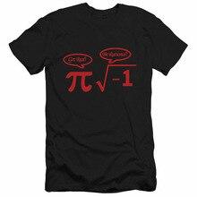 T Shirts Men New Be Rational Get Real NERD GEEK PI Funny Math Tshirts T-Shirts Top Tees