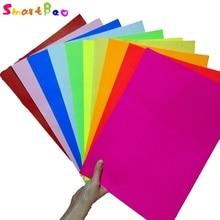 Купить A4 разноцветный самоклеящиеся Стикеры Бумага; 10 шт. в партии; тиснением устройство записки Бумага Цвет Бумага яркий клей