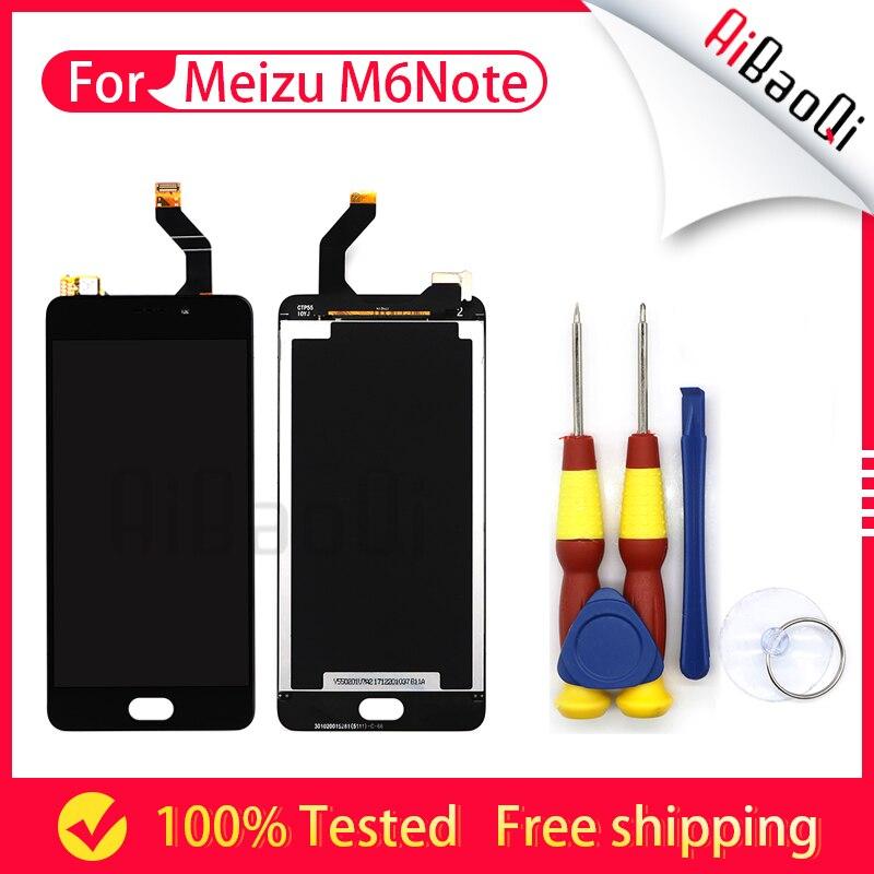 Pour Meizu M6 note LCD Écran Affichage Écran Tactile Digitizer Assemblée Remplacement Pour Mondial Version 5.5 pouces Démonter Outil