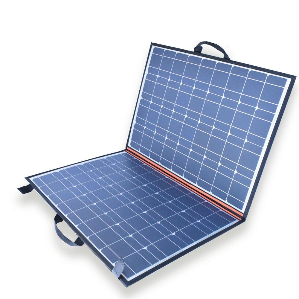 Xinpuguang Вт 110 Вт 100 Вт солнечная панель складной портативный солнечный зарядное устройство + В 12 В в/24 В 10A контроллер для В 12 В батарея power Bank USB о...