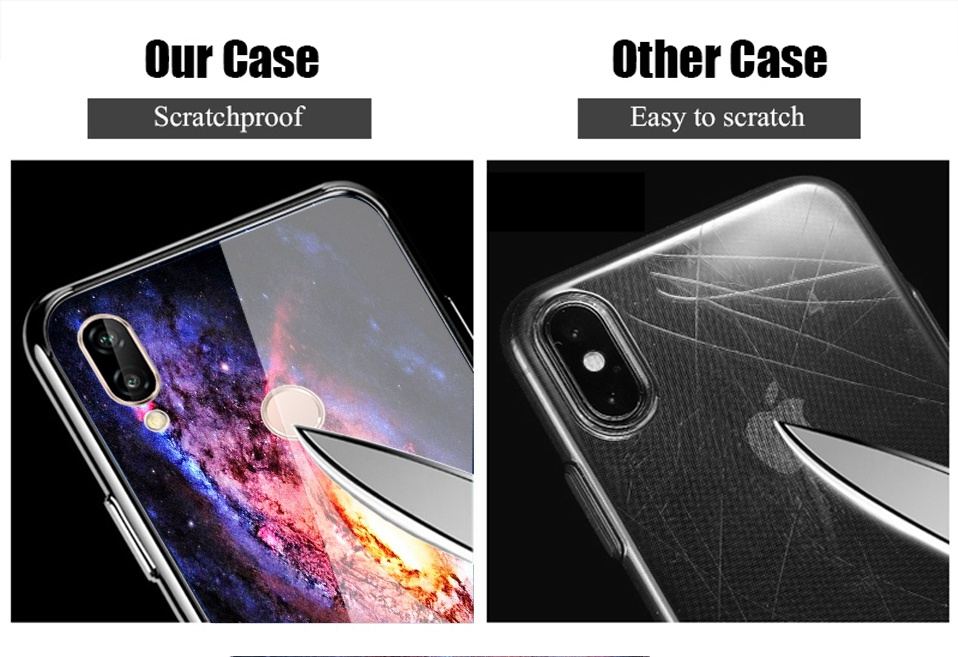 Glass Case For Huwei P20 Lite Nove 3 2i Silicone Anime Case For Huawei Honor Play 9 7A Mate 10 20 Lite P20 Pro P Smart Y6 2018   (12)