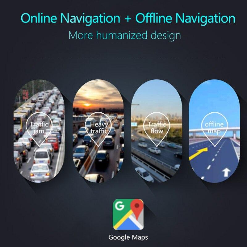 ANSTAR 4G Car Camera 10 inch Rearview Mirror Android 5.1 GPS Car DVR Video Recorder WiFi Bluetooth Dual Lens Registrar Dash Cam