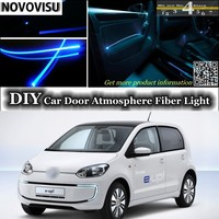 NOVOVISU Voor Volkswagen VW Up interieur Omgevingslicht Tuning Sfeer Glasvezel Band Lichten Binnen Deur Panel verlichting