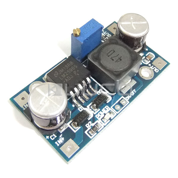 20W Power Converter DC 4.75~35V to 1.25~26V 3A Buck Voltage Regulator DC 5V 12V 24V Power Supply Module/Adapter/Driver Module