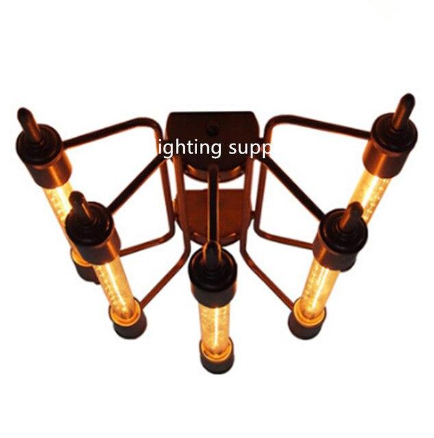 Us 198 99 20 Off Retro Amerikanischen Industrie Stil Schwere Metall Art Deco Cafe Bars Geschwindigkeit Von Licht Deckenleuchten Oder Wandleuchten In